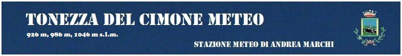 Tonezza Meteo